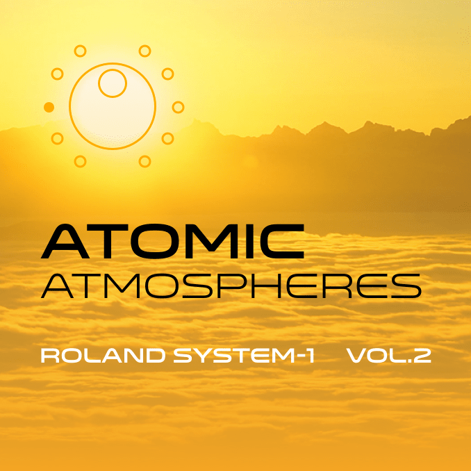 Atomic Atmospheres System-1 sound bank artwork