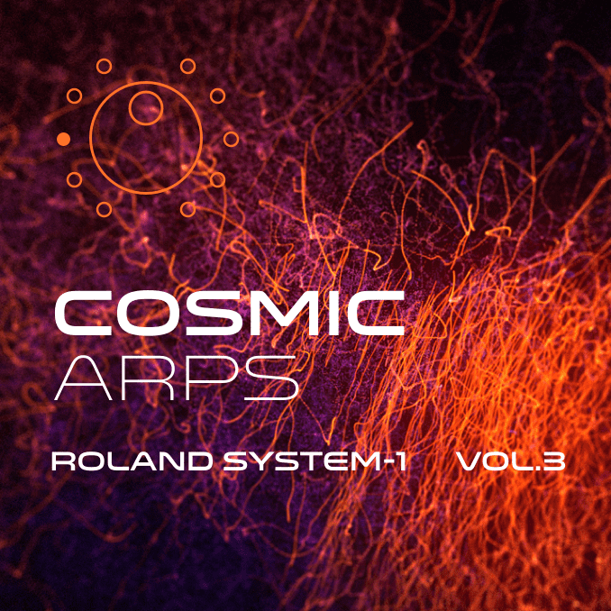 Cosmic Arps System-1 sound bank artwork