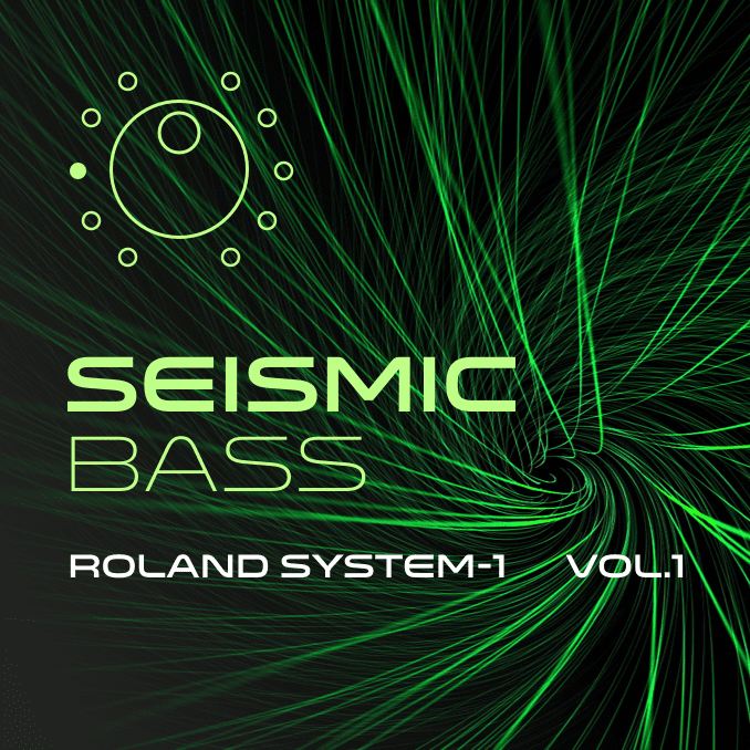 Artwork of Seismic Bass System-1 sound bank