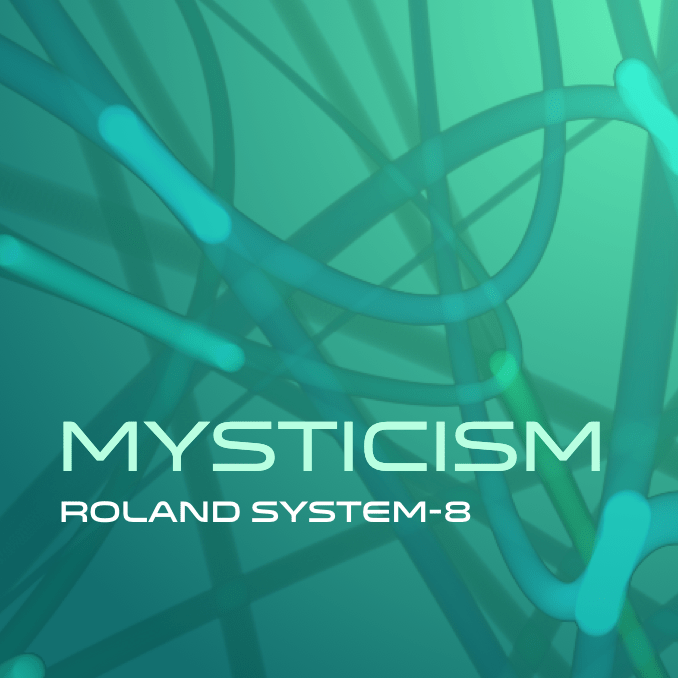 Cover art for Roland System-8 bank Mysticism
